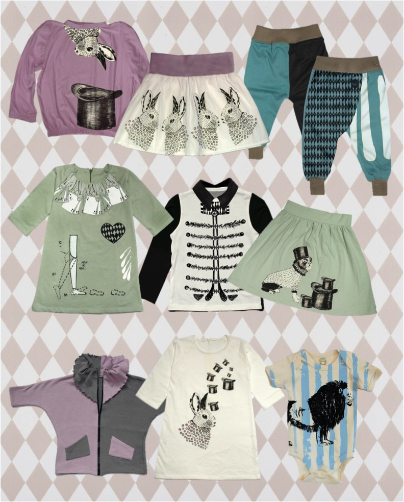 """""""circus themed kids clothes"""""""