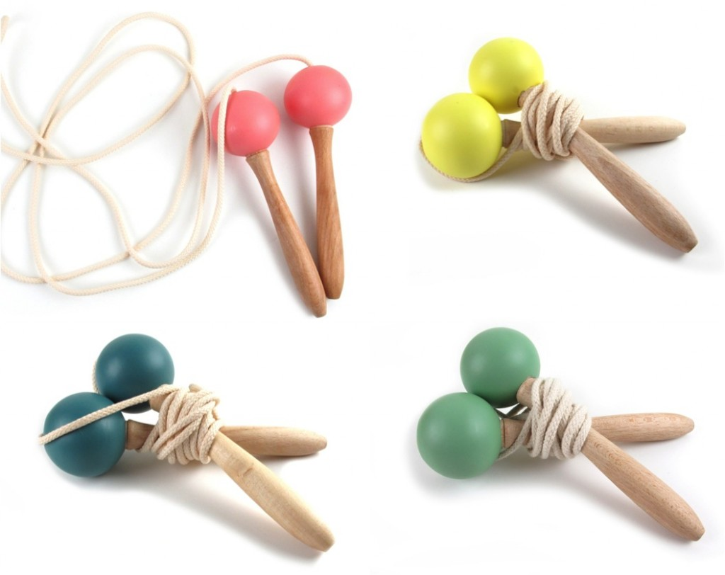 """""""wooden skipping ropes"""""""