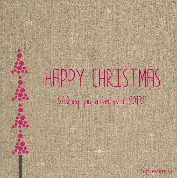 """Happy christmas 2013"""