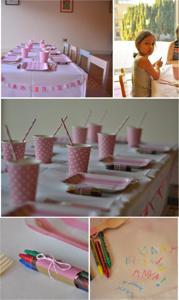 """pink party table decor ideas"""