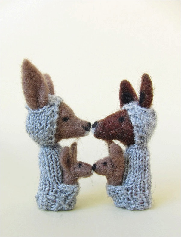 """""""hand made finger puppets"""""""
