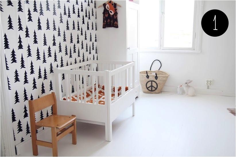 """black and white nursery"""