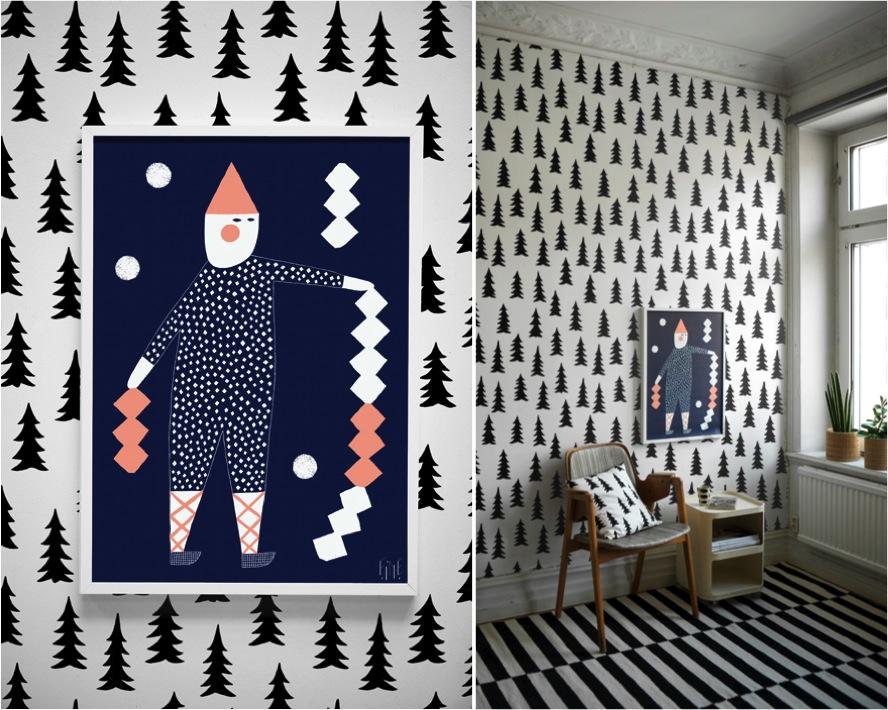 """black and white wallpaper"""