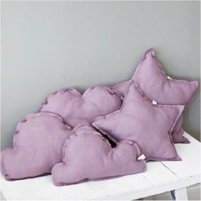 """linen cloud cushions"""
