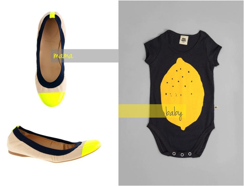 """""""lemon baby bodysuit"""""""