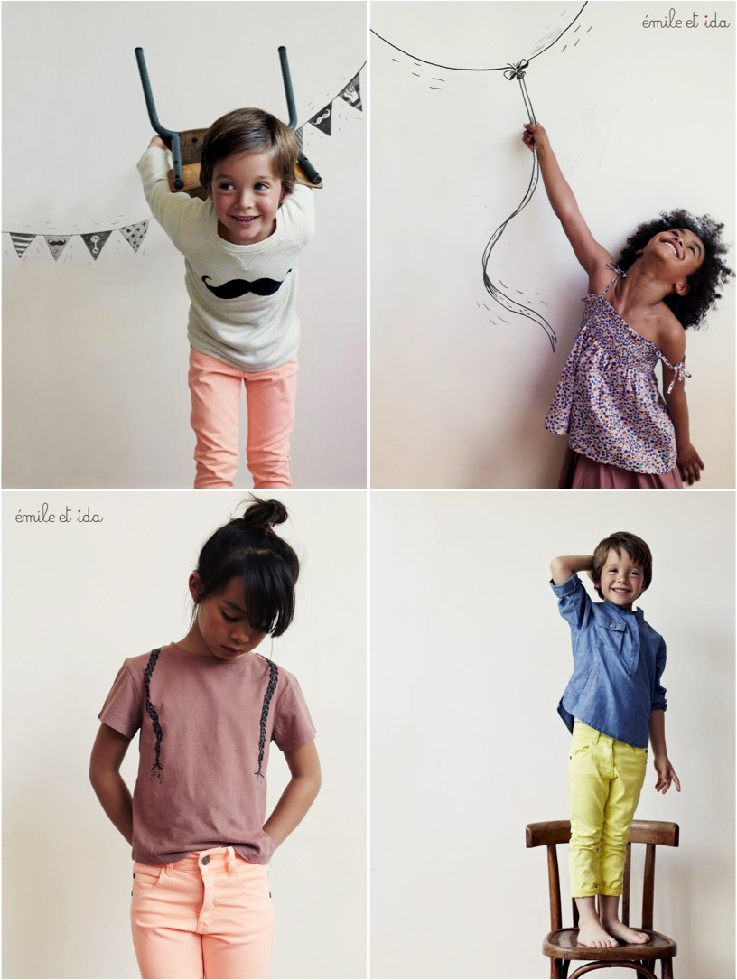 """french summer clothes for kids"""