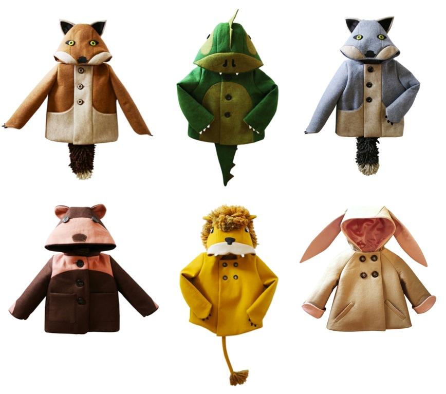 """kids animal winter coats"""