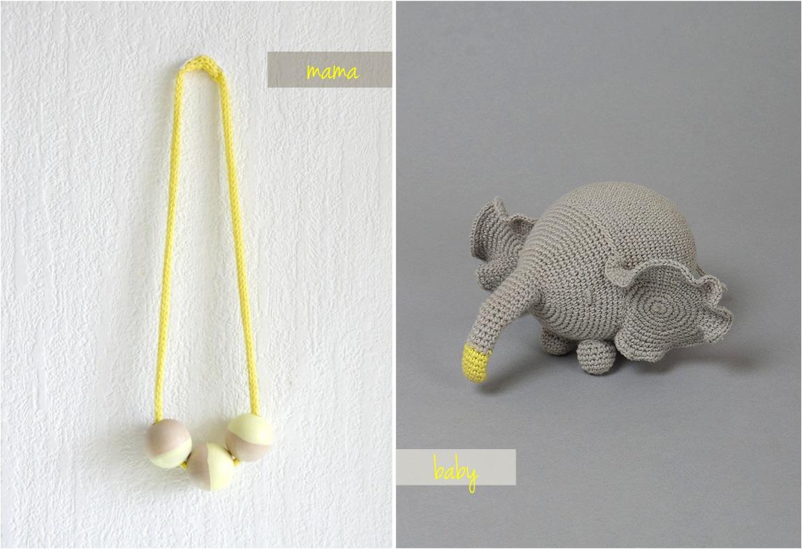 """""""crochet elephant toy"""""""
