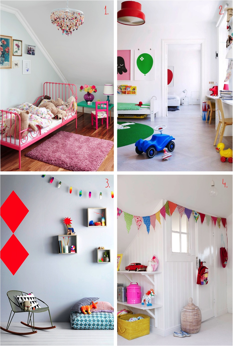 """colourful kids rooms"""