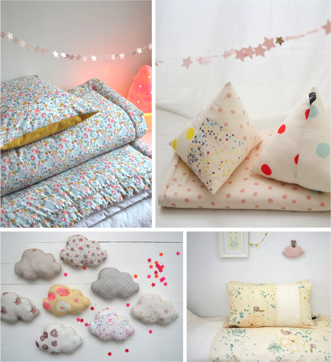 """french baby bedlinen nursery decor"""
