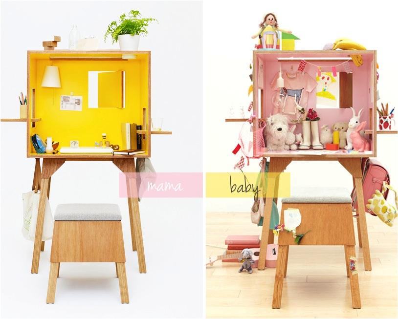 """mini japanese space saving desks"""