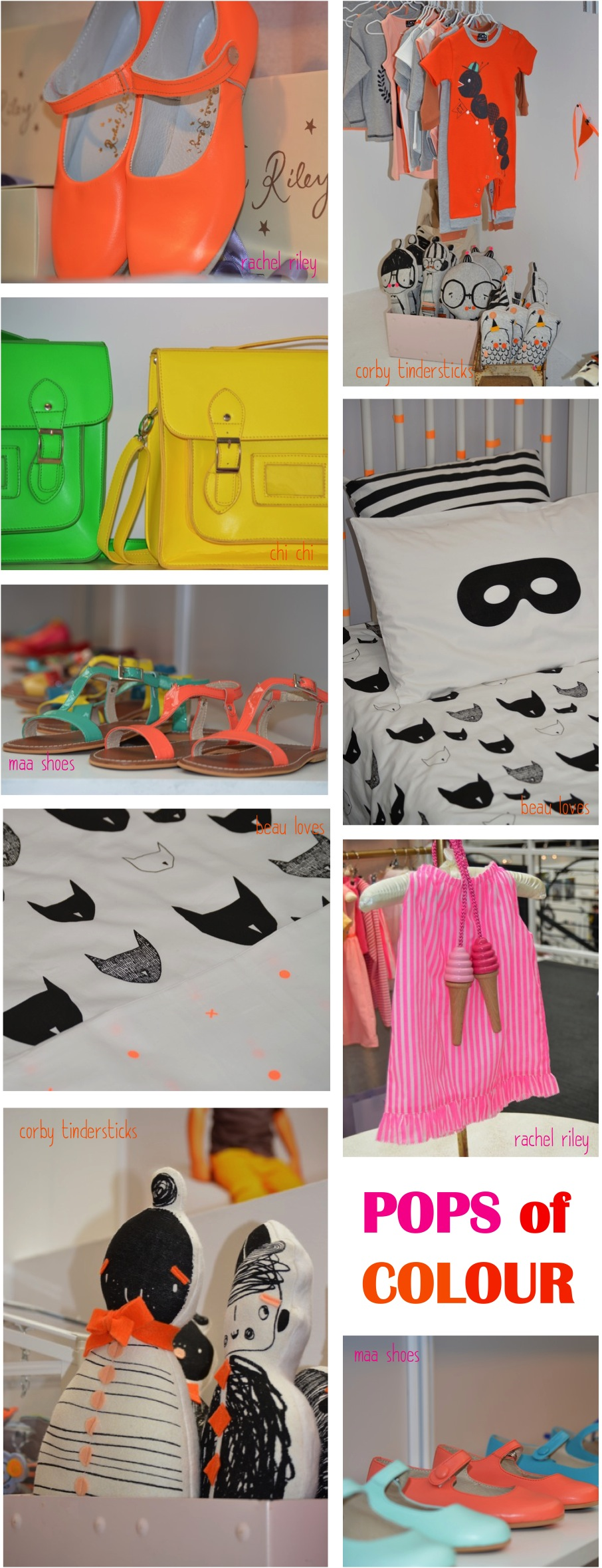"""neon clothes shoes accessories for kids"""