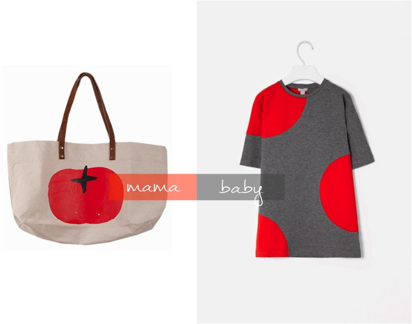 """""""red canvas tote bag"""""""