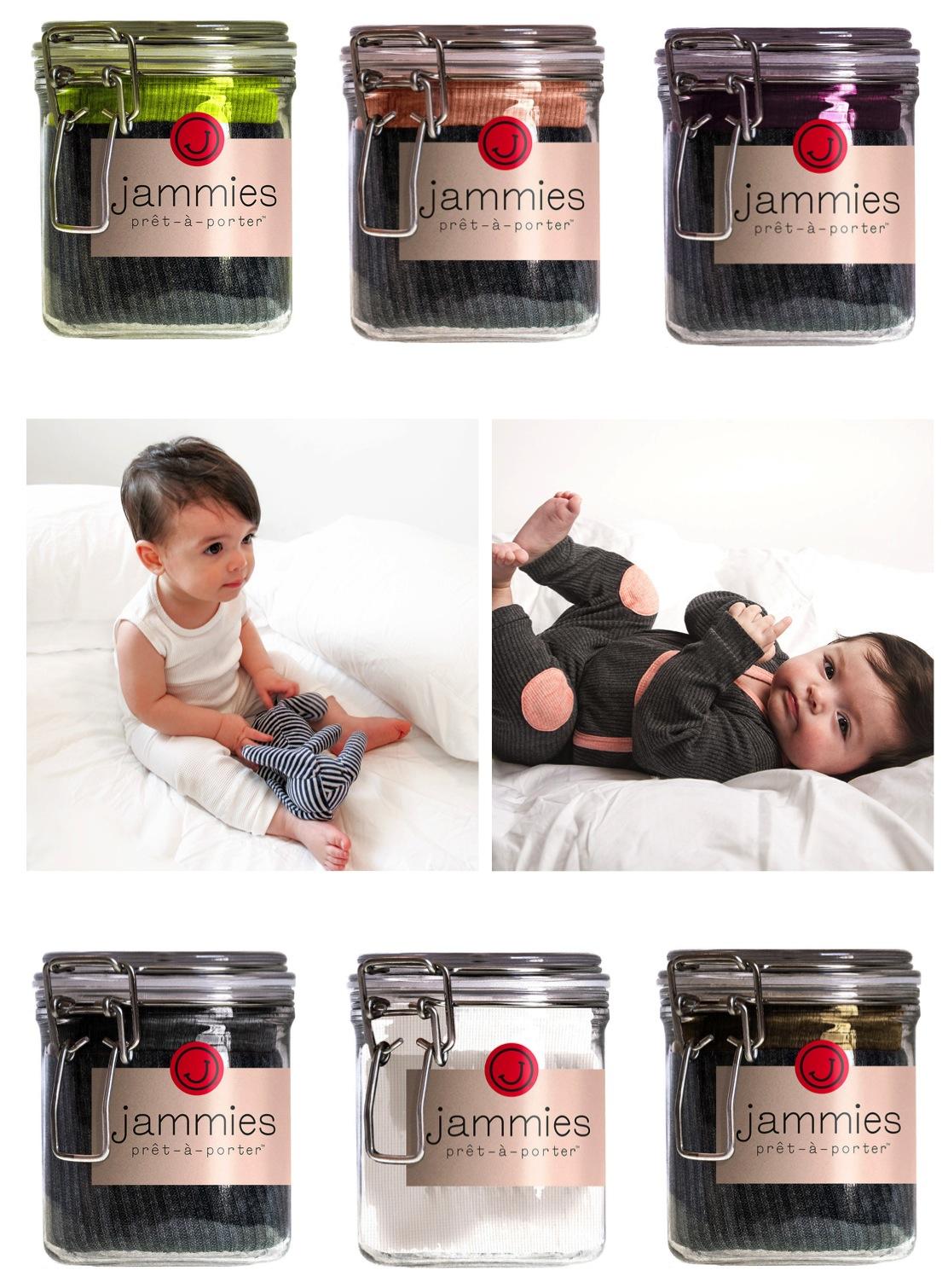 """""""baby pyjamas in a jar"""""""