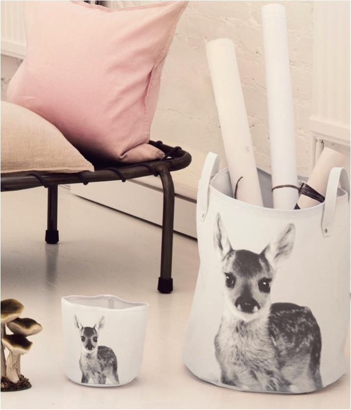 """animal print toy storage basket"""
