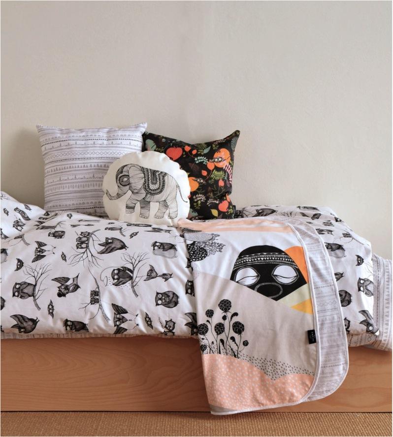 """animal themed kids bedding"""