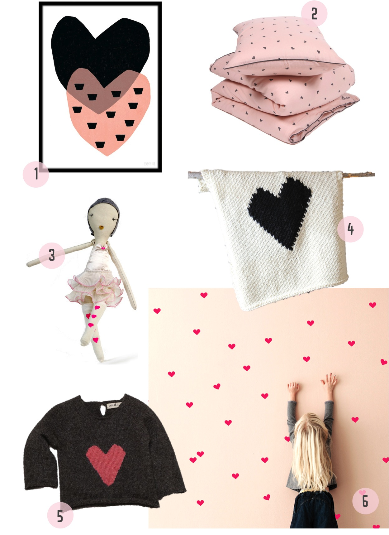 """""""heart baby blanket"""""""