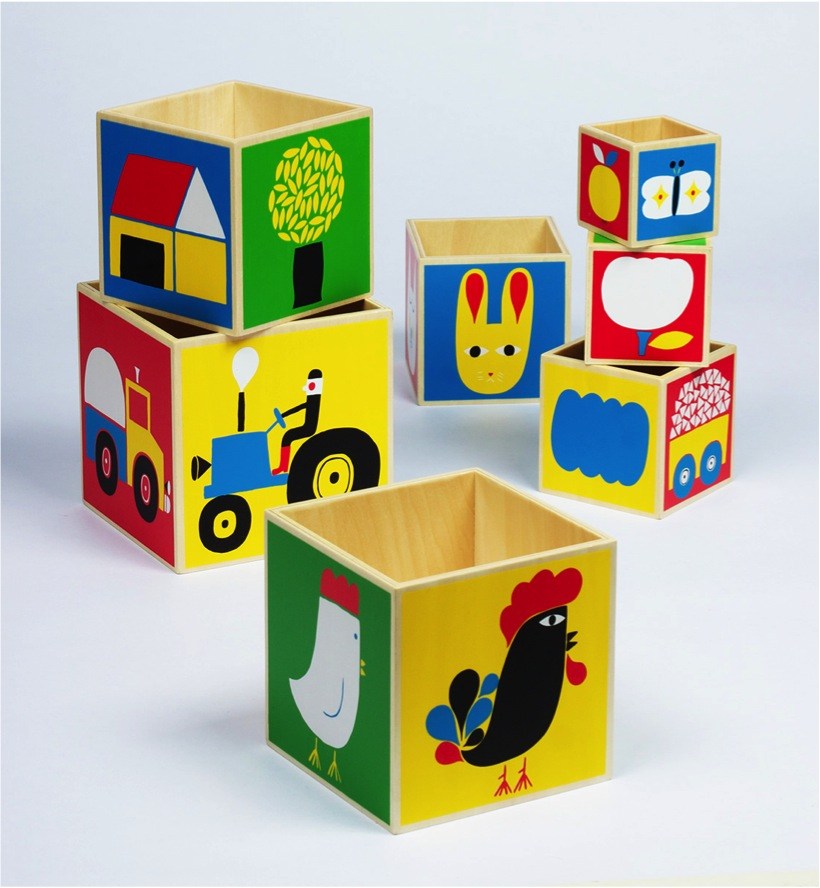 """""""colourful wooden stacking blocks"""""""