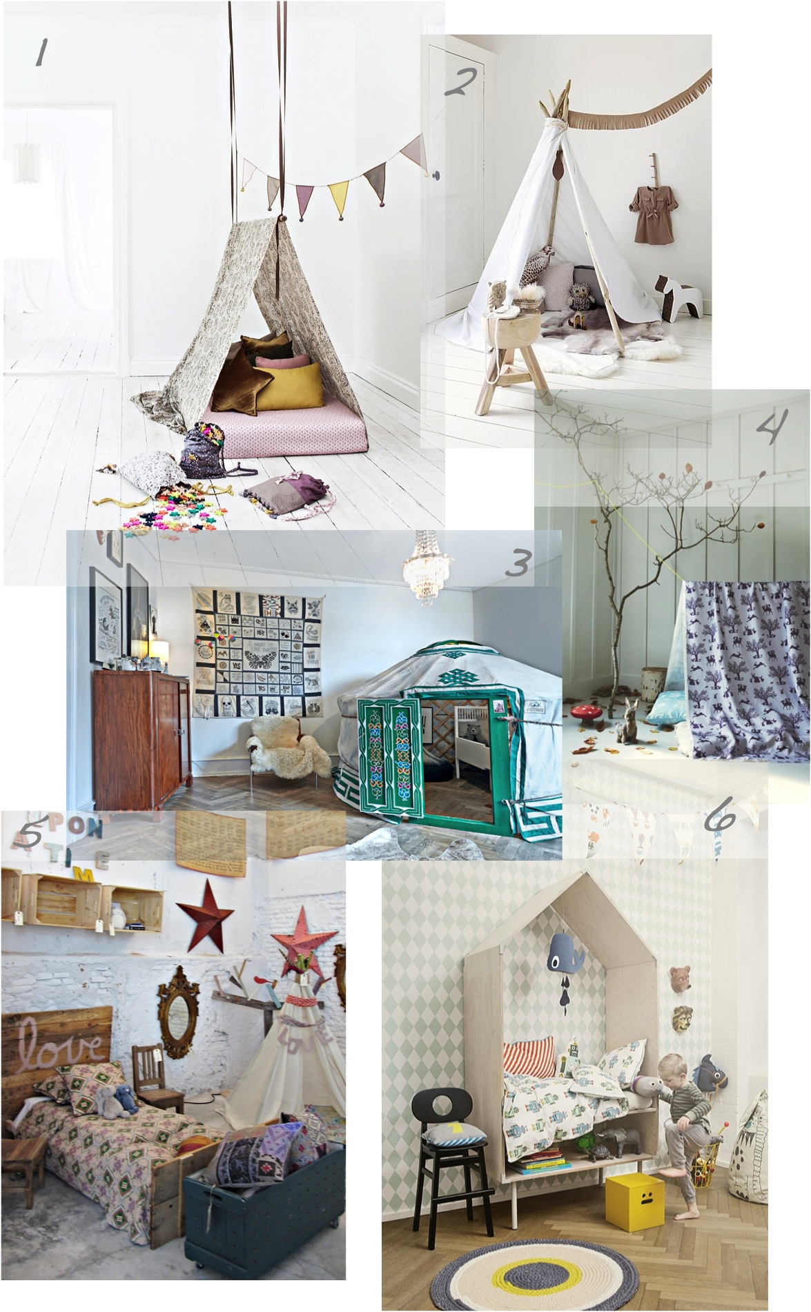 """kids play tents and tipis"""