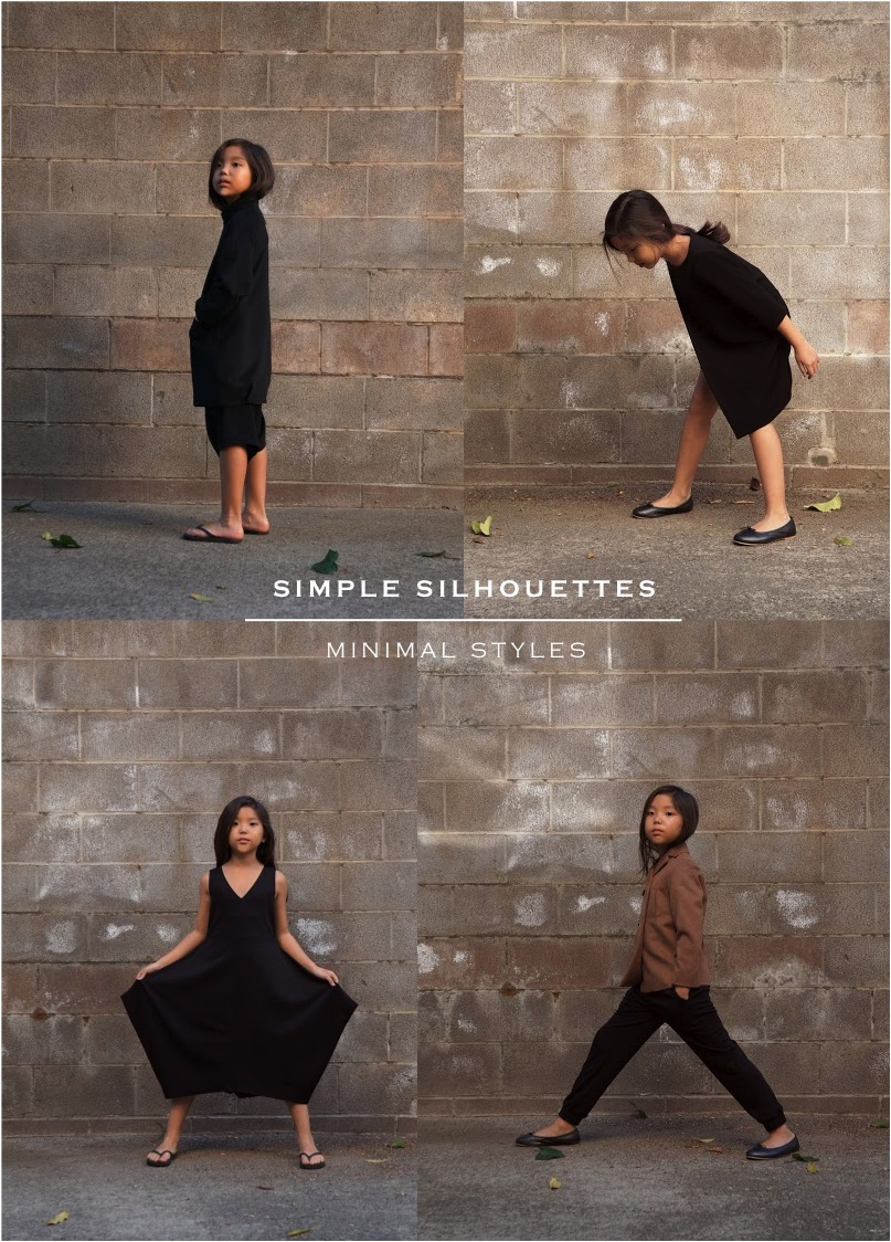 """minimal Japanese clothes for kids"""