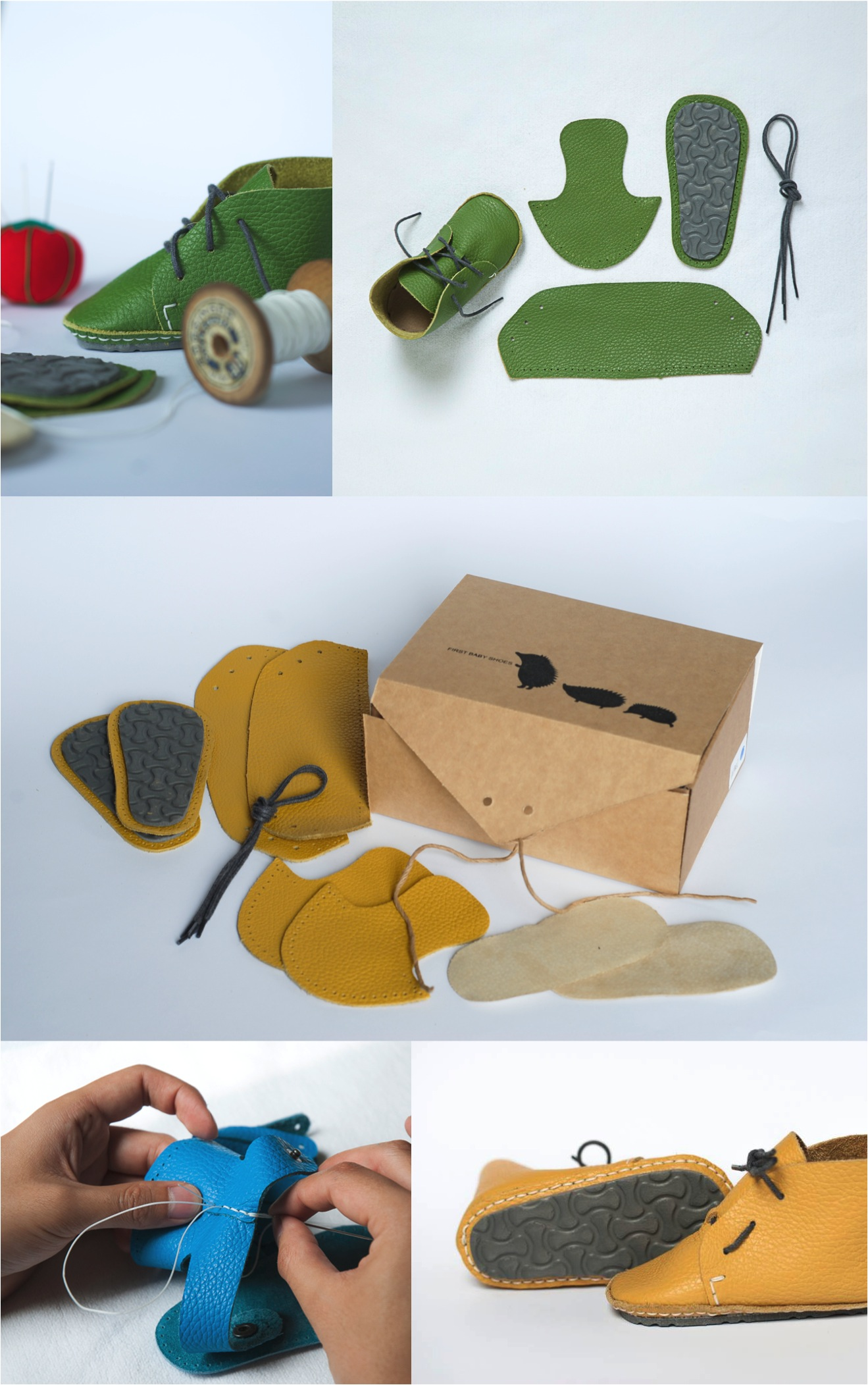 """""""DIY first baby shoes"""""""