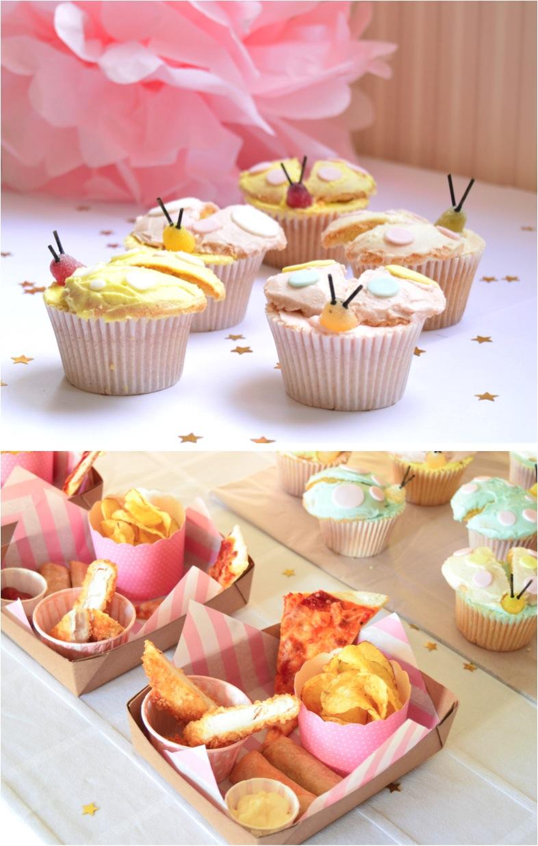 """lady bug cupcakes"""