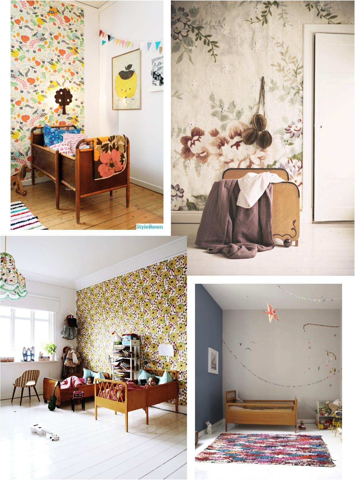 """vintage girls bedrooms"""