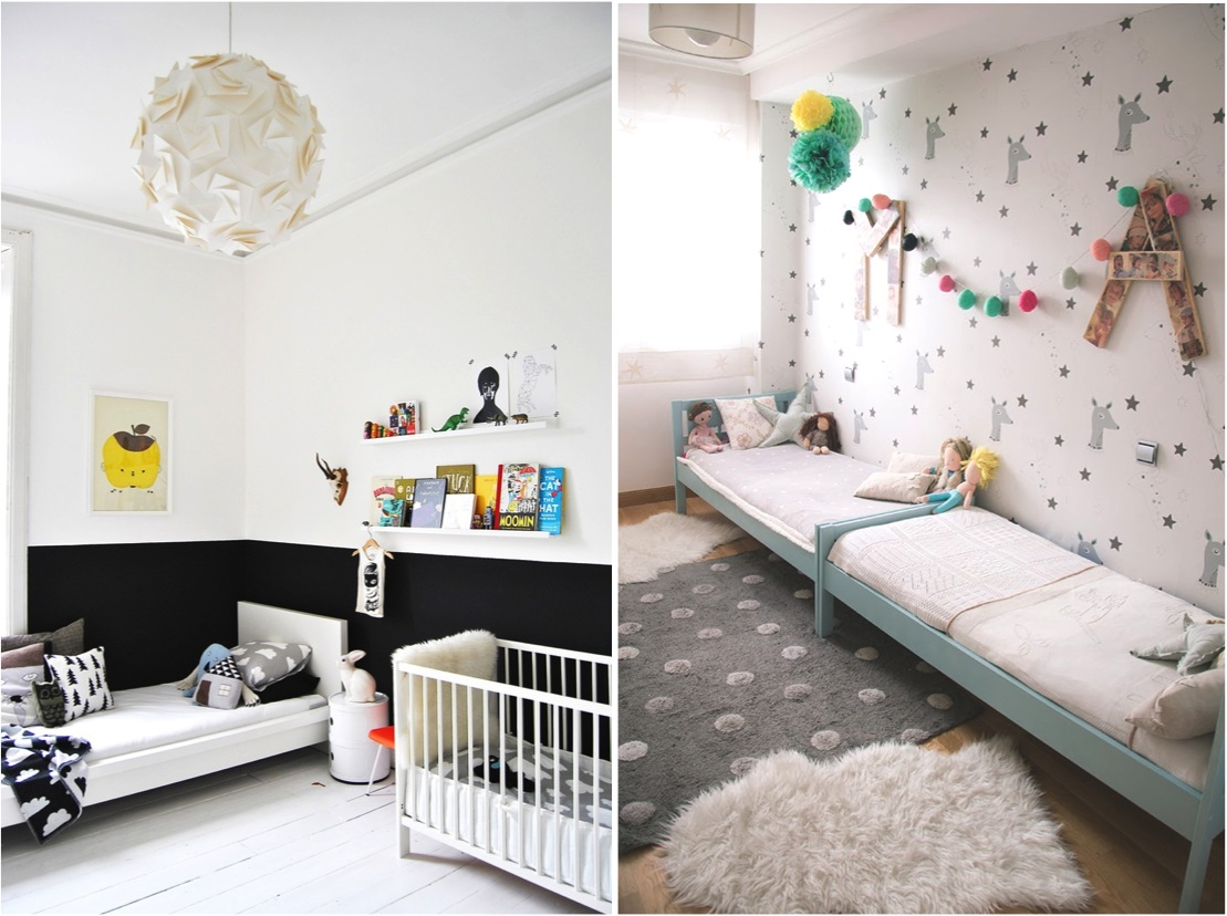 """ideas for shared rooms for kids"""