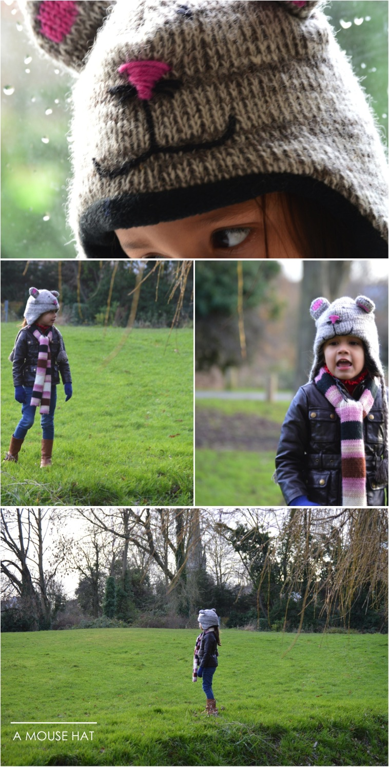 """kids mouse winter hat"""