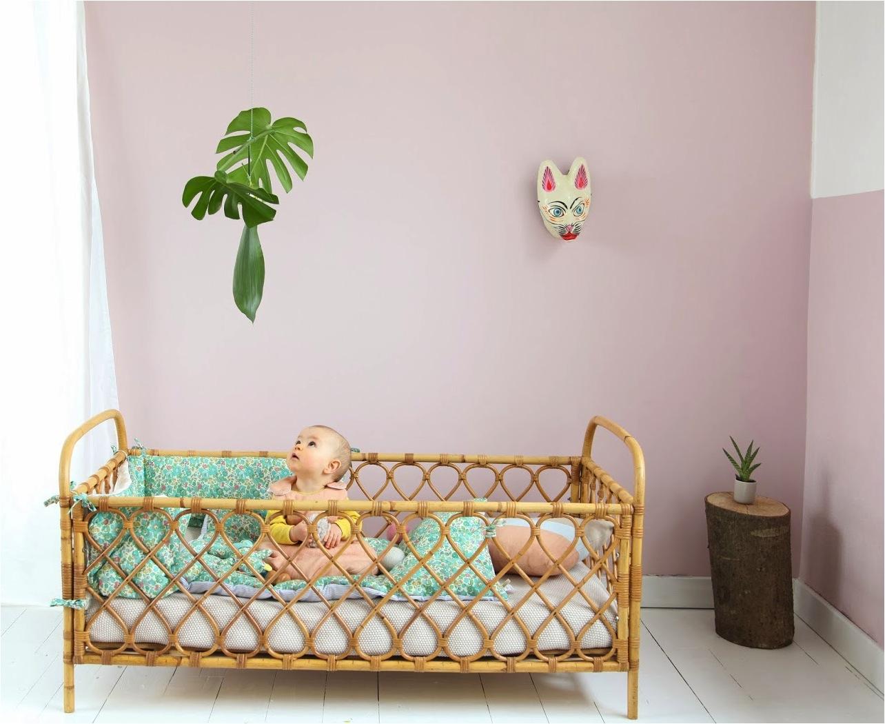"""minimal pastel baby nursery"""