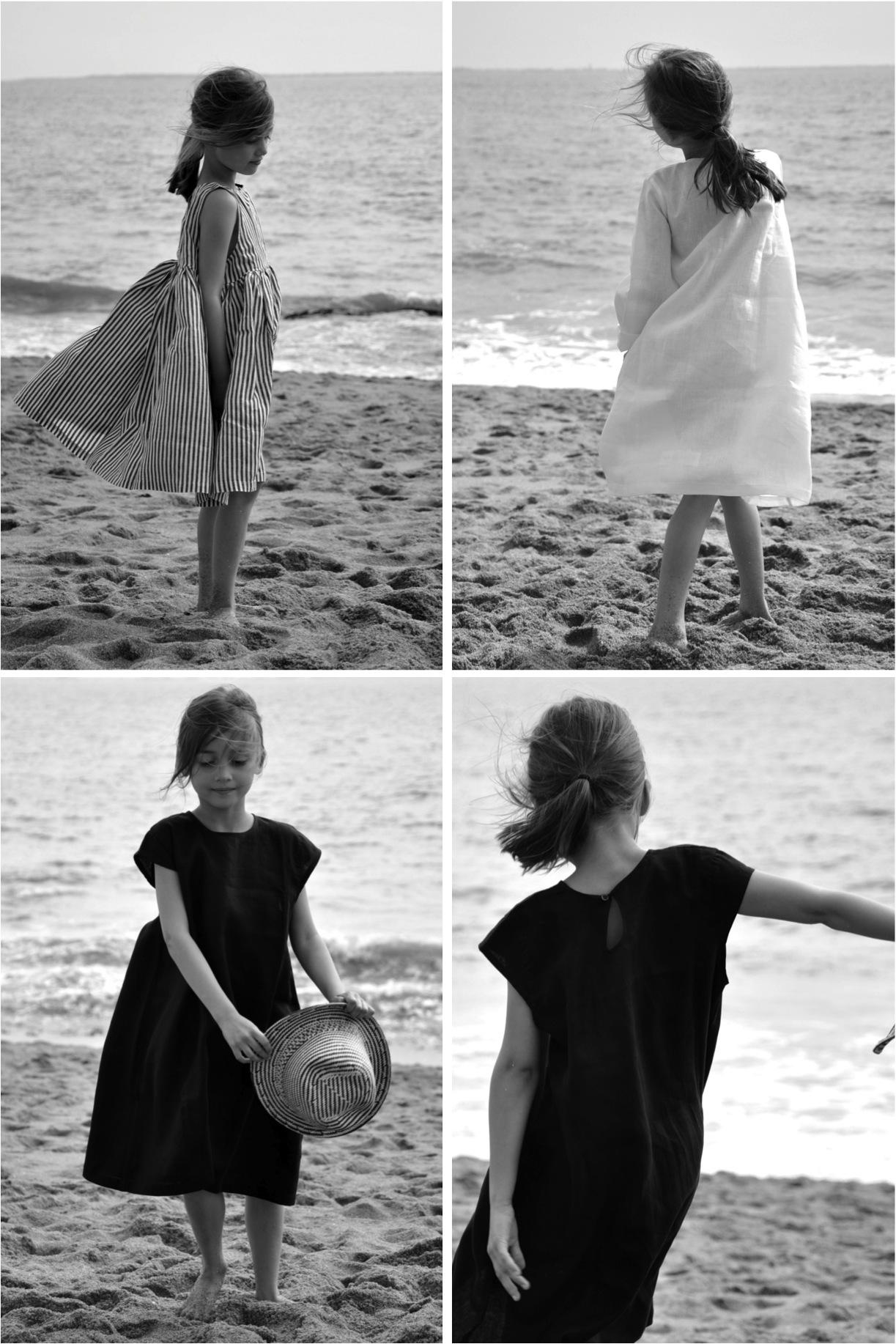 """""""French linen dresses for girls"""""""