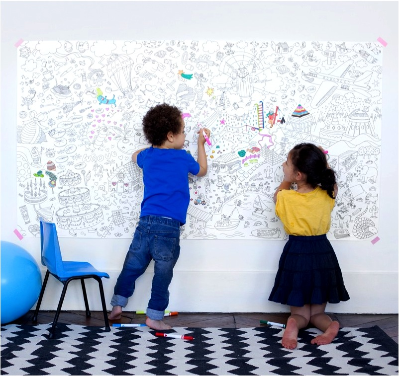"""""""giant colouring poster"""""""