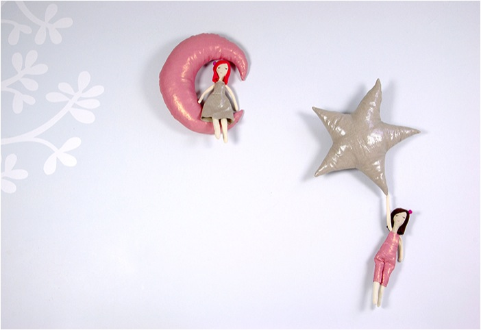 """hand made doll mobiles"""