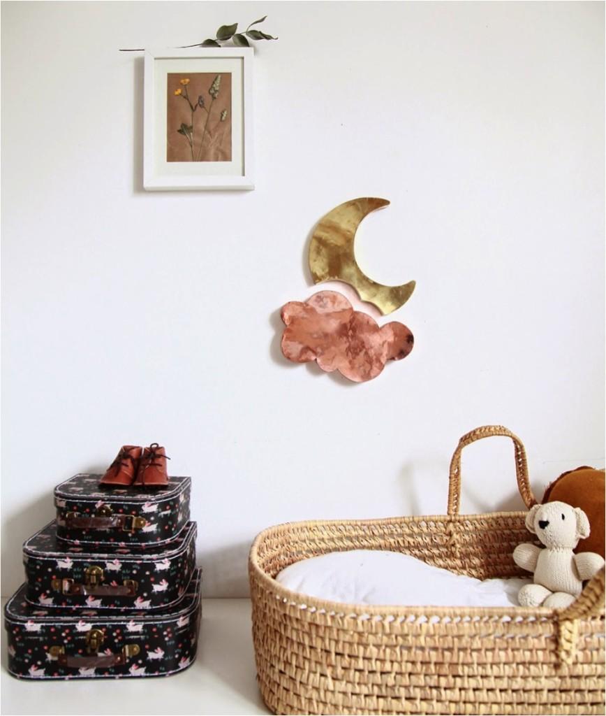 """creating a nursery corner in your bedroom"""