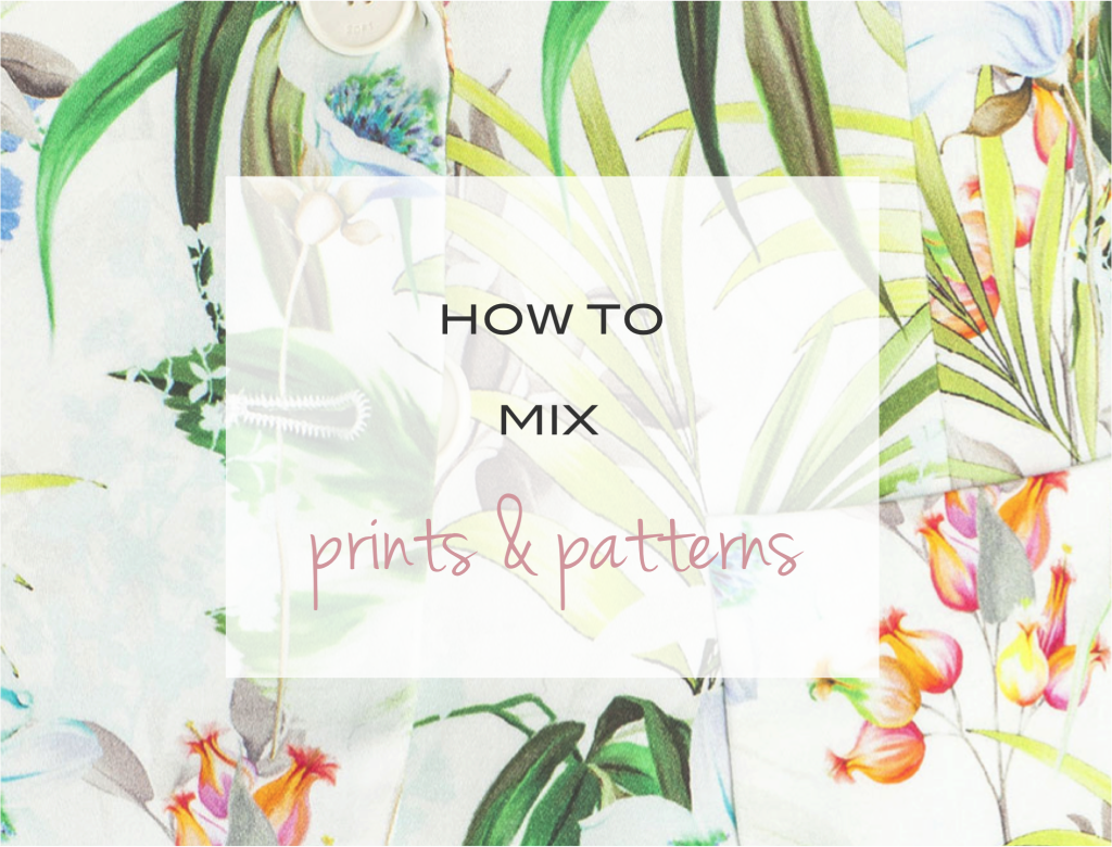 """""""how to mix prints and patterns"""""""