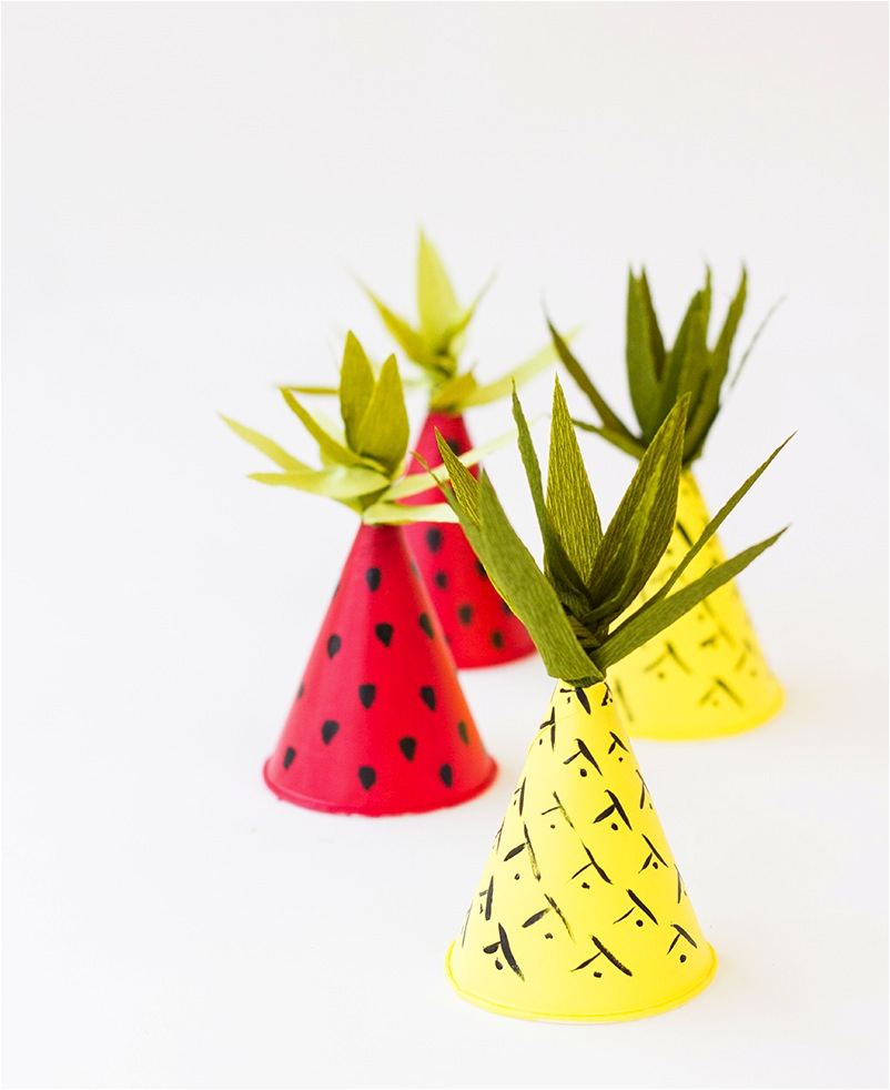 """DIY kids party hat ideas"""