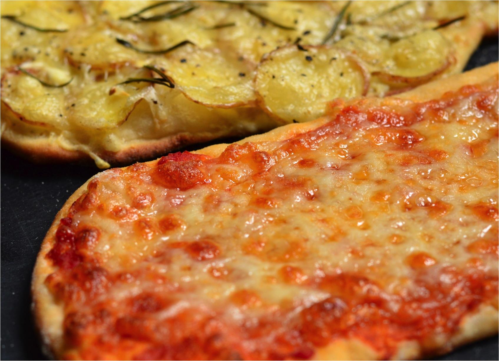 """easiest homemade pizza"""