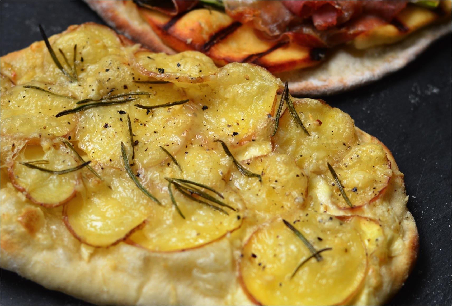 """""""potato and rosemary pizza recipe"""""""