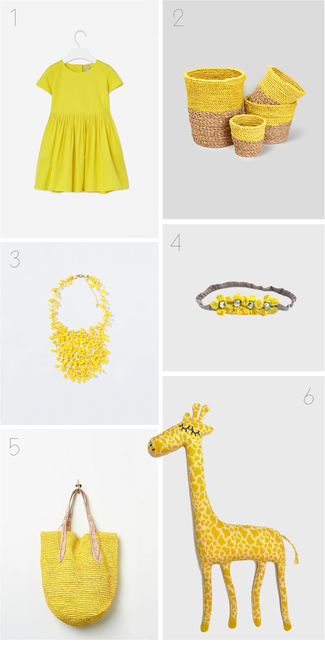 """yellow collection for mama and baby"""