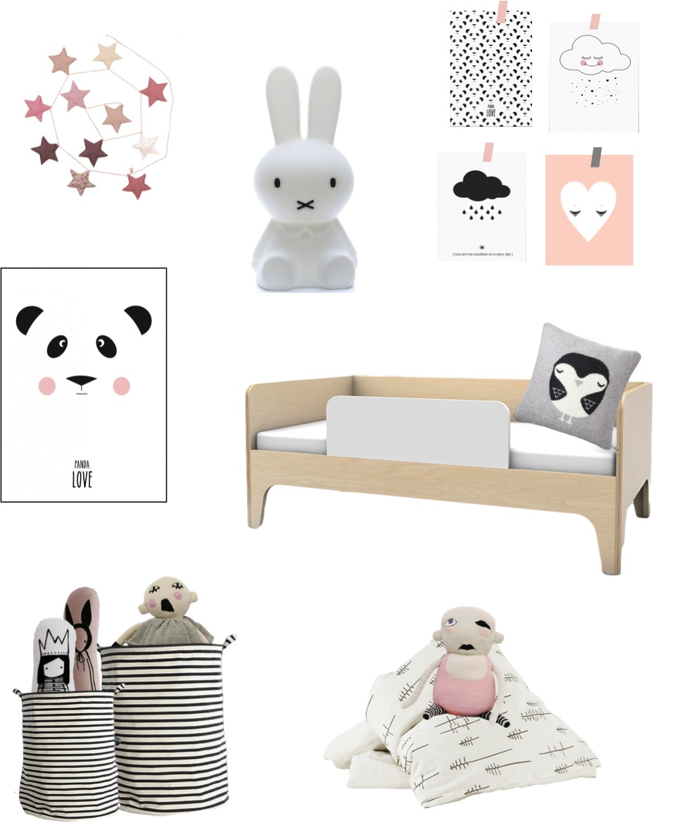 """black and white room ideas for toddlers"""