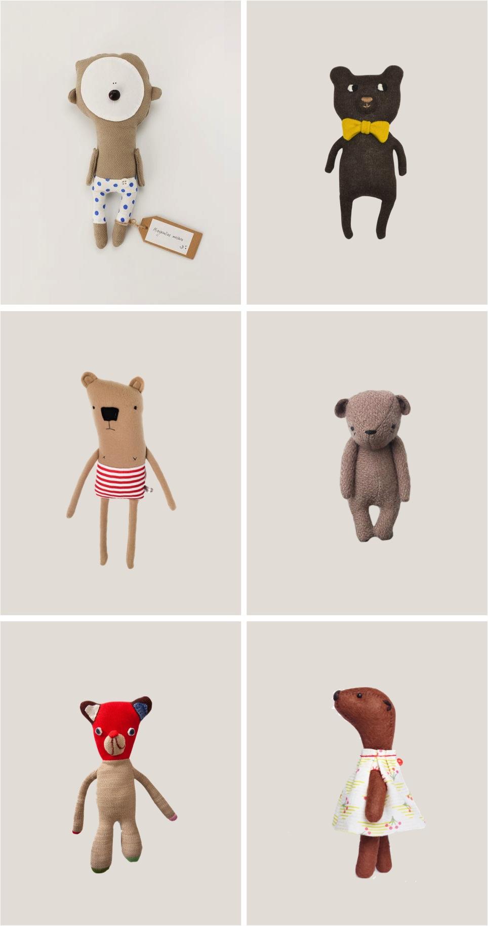 """""""six of the best teddy bear soft toys"""""""