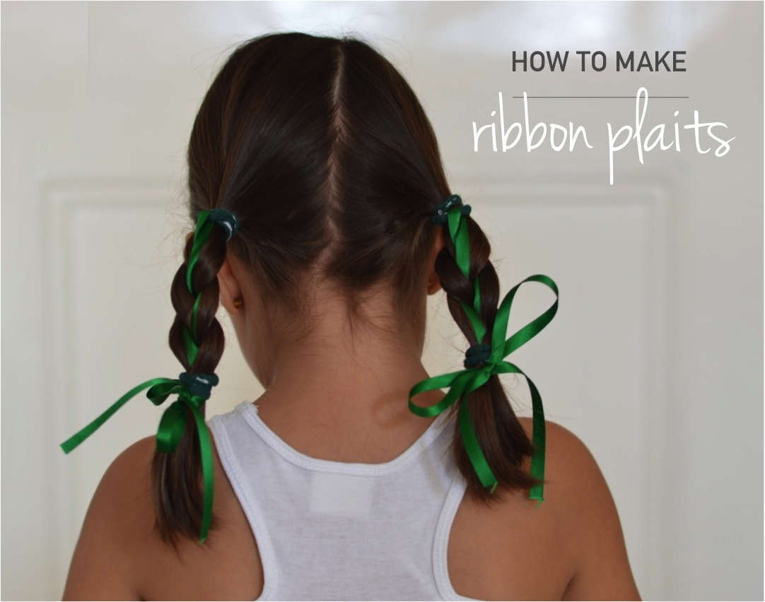 """how to make ribbon plaits"""