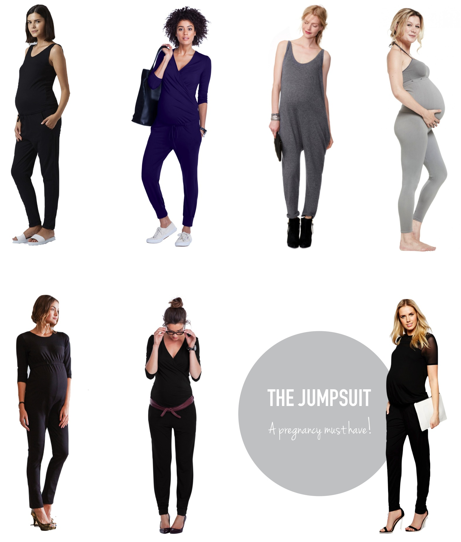 """the best maternity jumpsuits"""