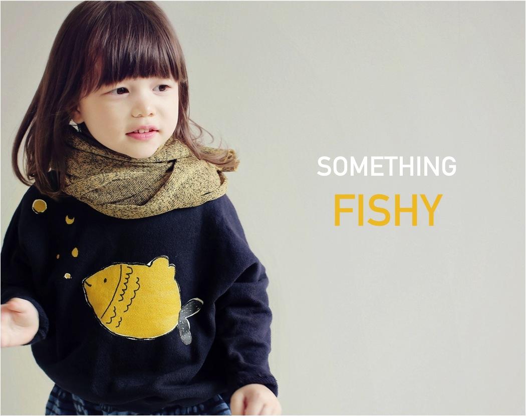 """Aehem fish sweatshirt Ebabee shop"""