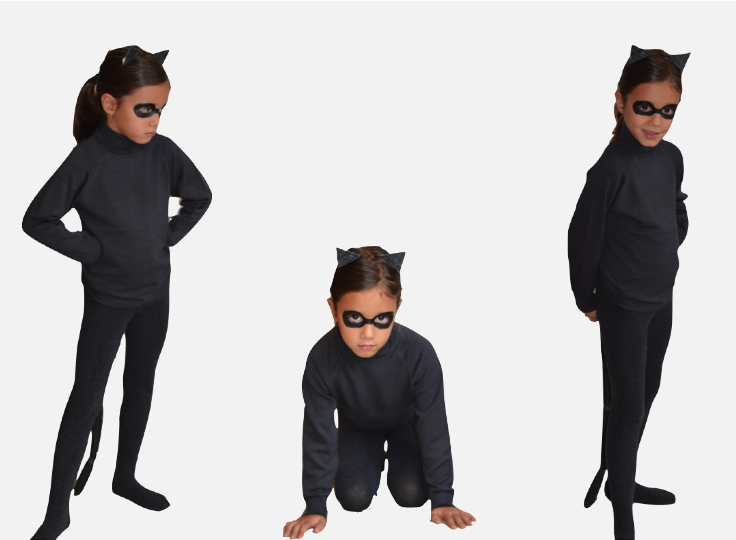 """halloween cat DIY outfit"""