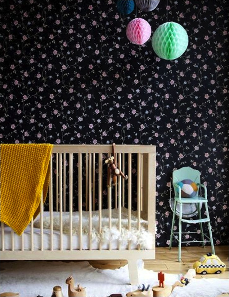 """how to use dark colours in a nursery"""