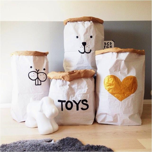 """white kids toy storage bins"""