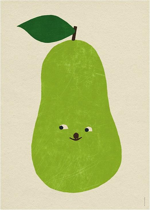 """fruit poster for kids room"""
