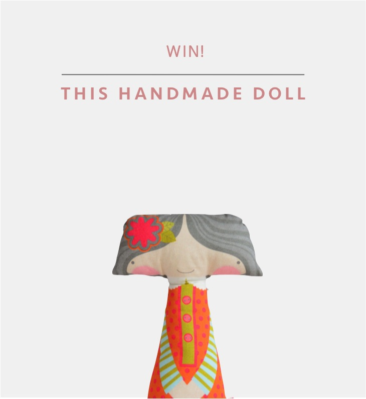 """handmade doll giveaway"""