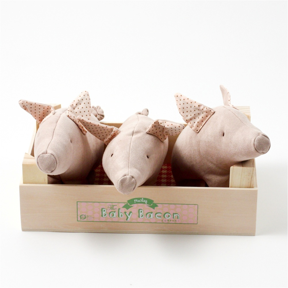 """three little pigs soft toy"""